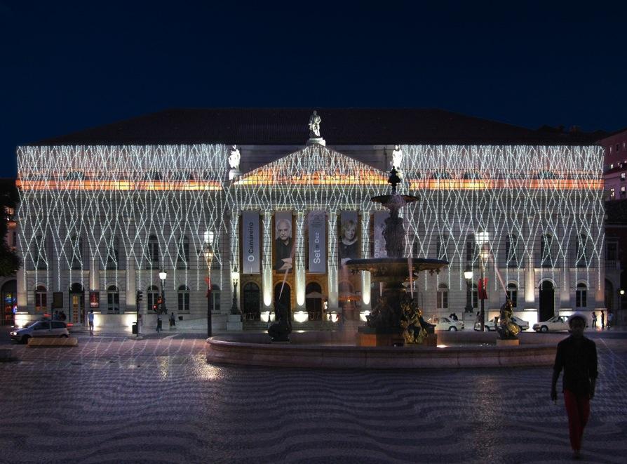 fachada do Teatro D¶ Maria