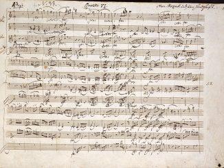 rivalità tra Mozart e Salieri
