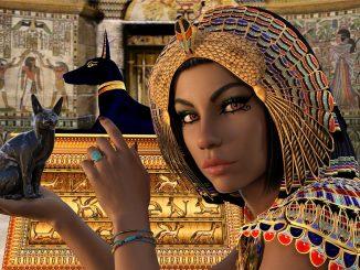 parrucche egizie