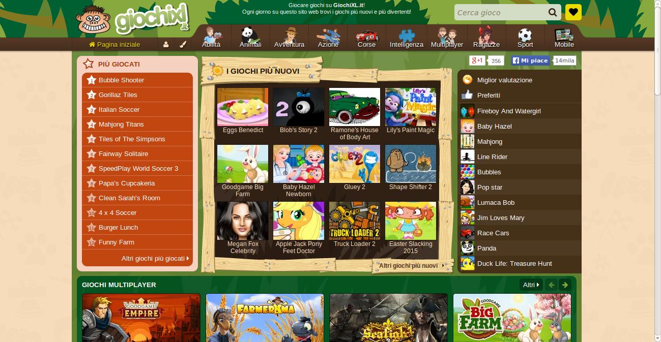 giochixl.it e trovi migliaia di giochi gratis per il tuo pc e non solo