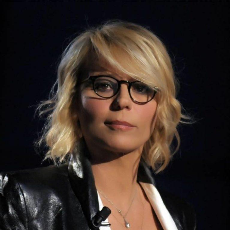 occhiali di Maria De Filippi