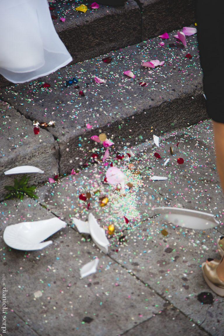 rottura dei piatti