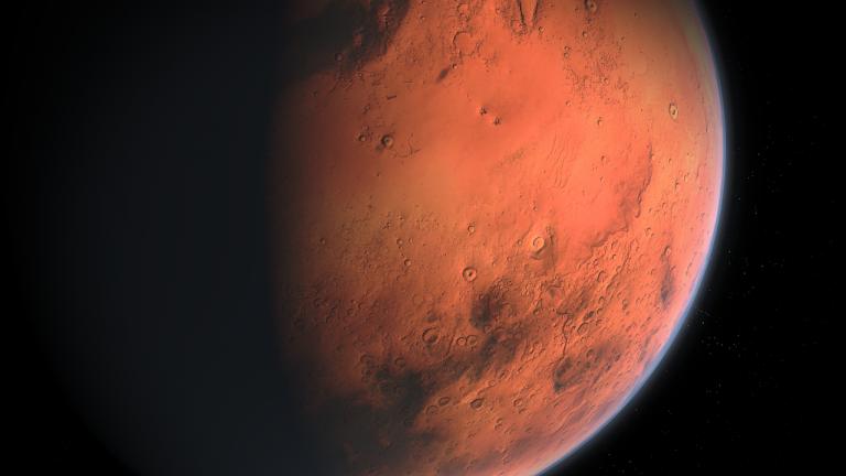 Terra e Marte