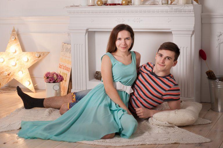Appuntamento romantico a casa