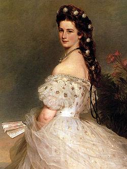 250px Empress Elisabeth of Austria in dancing dress 1865 Franz Xaver Winterhalter