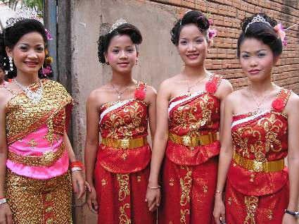 Abito da sposa cambogiano
