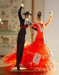 Cake topper ispirato al flamenco