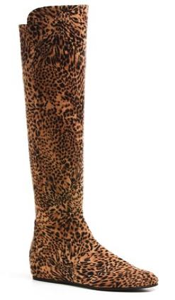 Stuart Weitzman: stivale animalier leopardato Mainultra, Collezione Autunno/Inverno 2011/2012