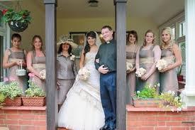 Matrimonio nel portico di casa