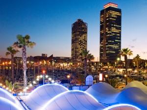 Porto Olimpico a Barcellona 300x225