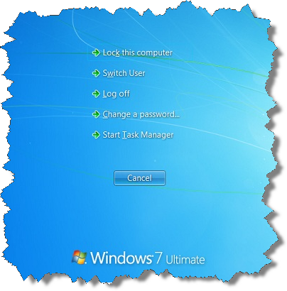 Windows 7 Task Manager Prompt