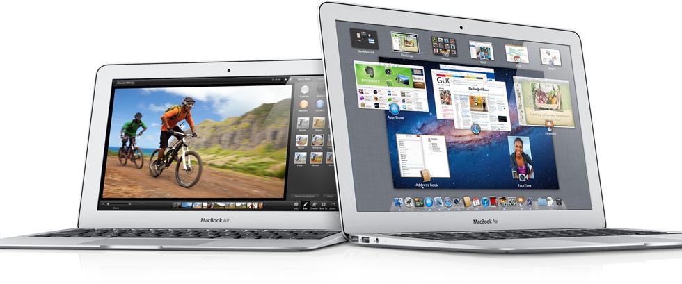 macbook air 11 6 13 3 mid 2011 affiancati allargati