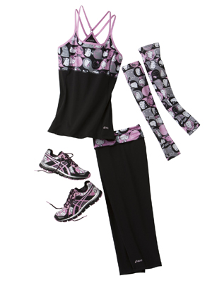 rby hello kitty asics workout mdn