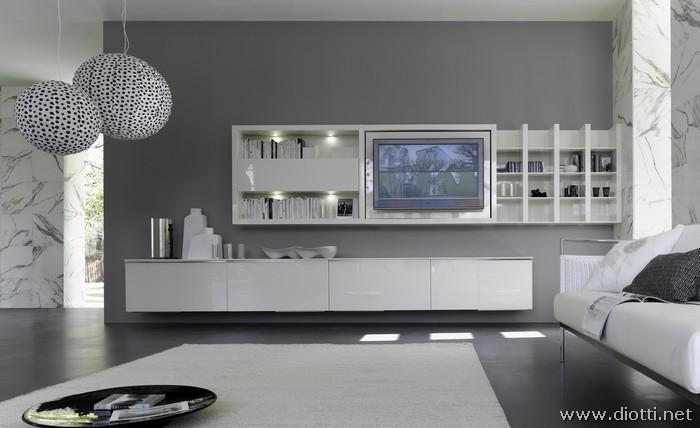 Eccentrico ed elegante soggiorno for Soggiorno moderno elegante