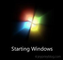 windows 7 boot screen