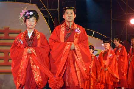 Perch le spose cinesi si sposano in rosso for Oggetti tradizionali cinesi