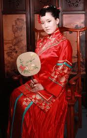 Abito da sposa tradizionale cinese abiti nuziali cinesi for Casa tradizionale cinese