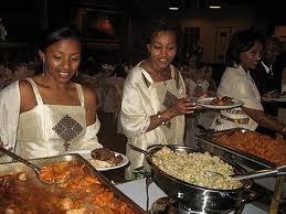 Banchetto nuziale etiope