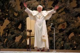 Benedizione di Papa Benedetto XVI