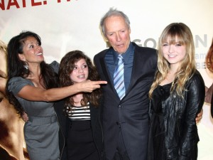 Clint Eastwood Family 300x225
