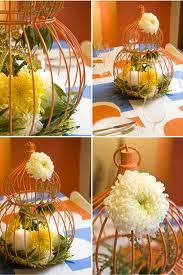 Gabbie per uccelli come centrotavola nuziali - Decorare una gabbia per uccelli per un matrimonio ...