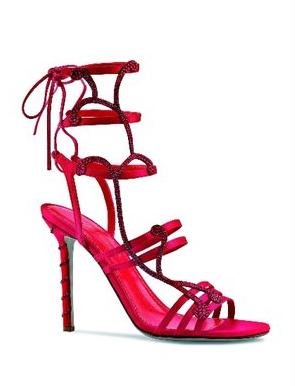 """Sergio Rossi: sandalo-gioiello """"Song"""", Limited Edition per il Natale 2011"""
