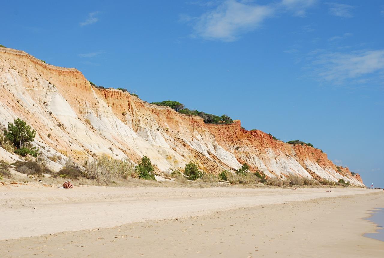 La scogliera di Algarve