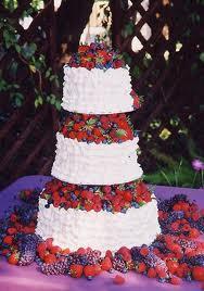Come attaccare frutta fresca alla torta nuziale - Notizie.it