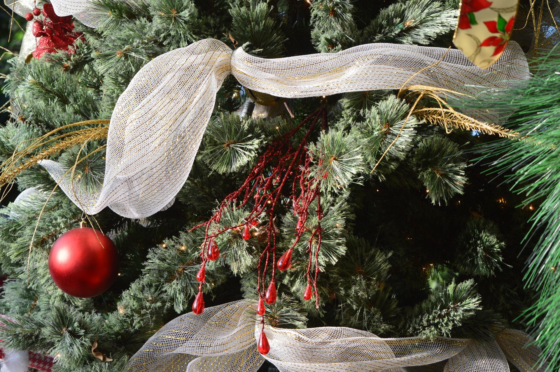 Eccezionale Come decorare gli alberi di Natale con il nastro WF36
