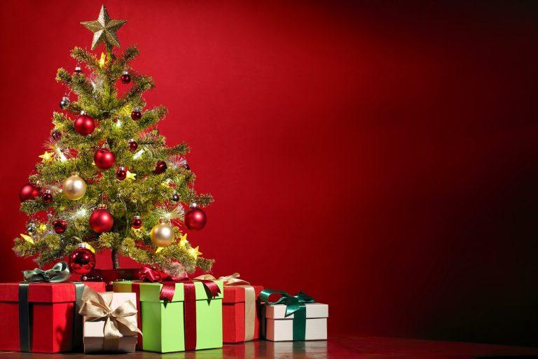 albero di Natale finto