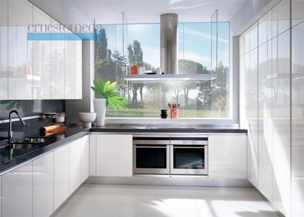 Innovativa ed originale cucina bianca - Notizie.it