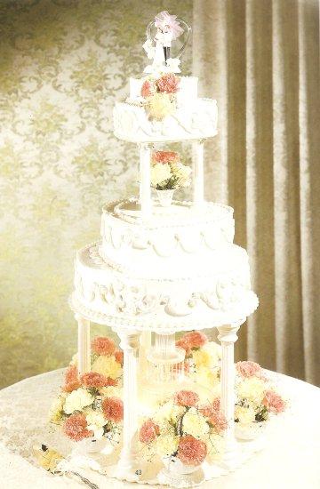 fountain wedding cakes02