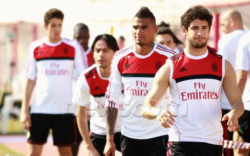 Video allenamento Ac Milan a Dubai