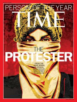 the protester il manifestante TIME