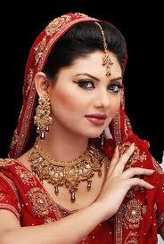 Acconciature da sposa pakistane