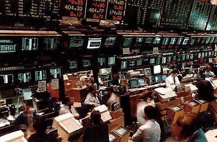 Una veduta della Borsa