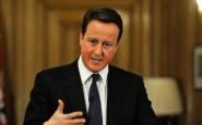 Il premier britannico Cameron