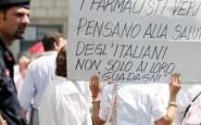 La protesta dei farmacisti