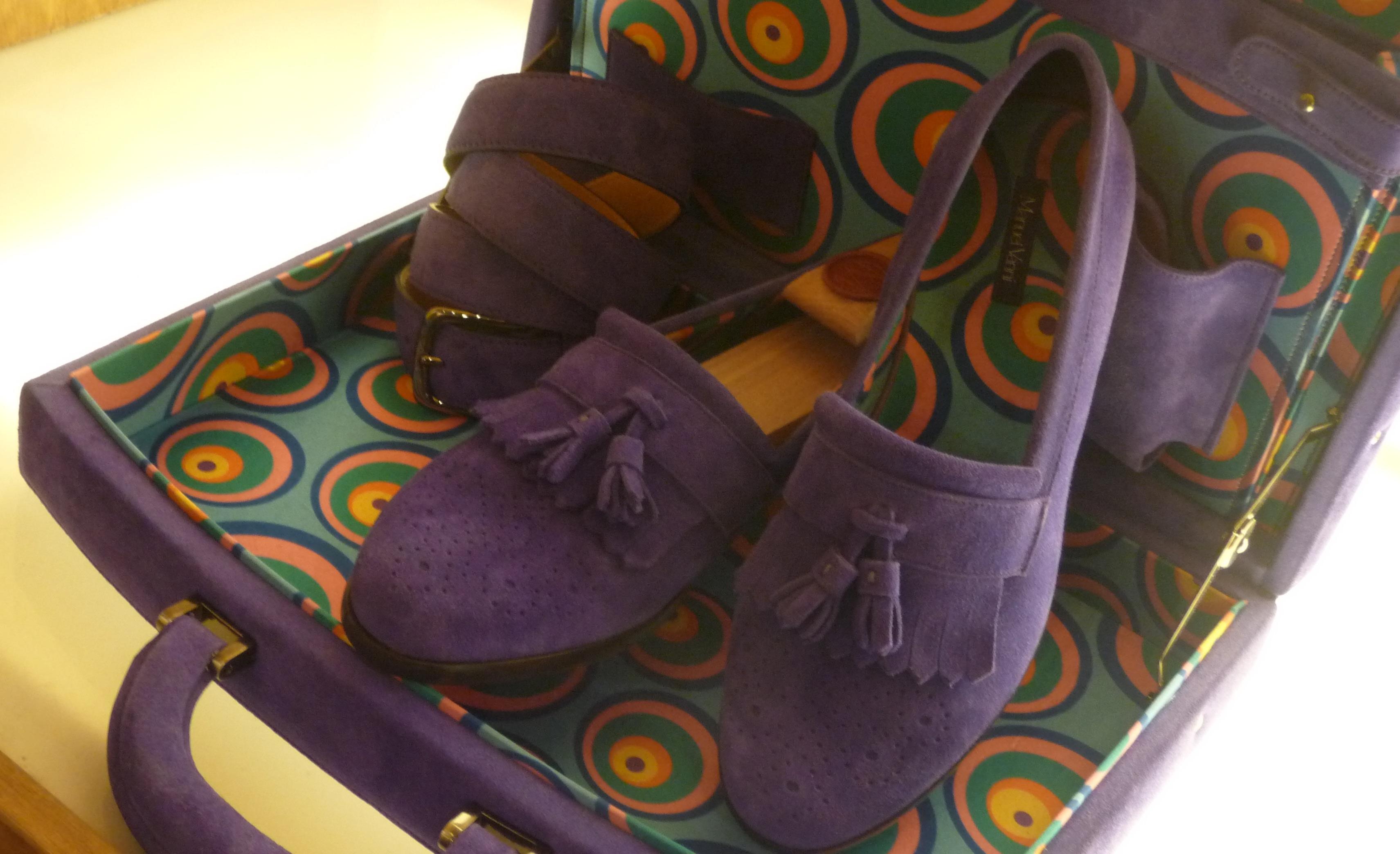 PITTI UOMO 81: scarpa mocassino con ventiquattrore Collezione Autunno/Inverno 2012/2013 di Manuel Vanni