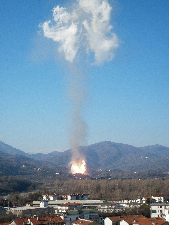 Esplosione Aulla