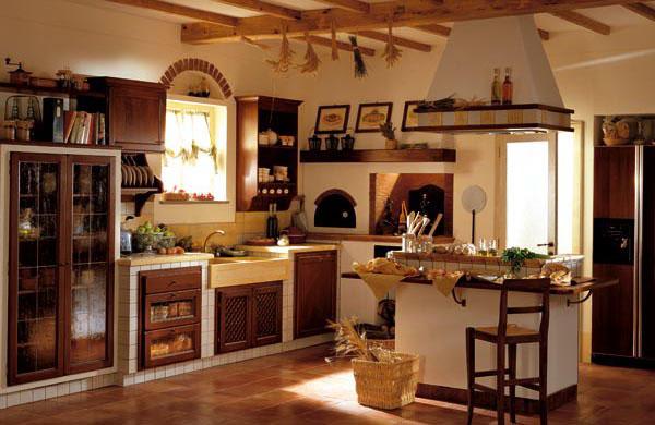 Nuovissima ed elegante cucina in muratura, realizzata con stile ed ...