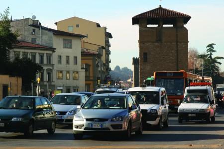 Traffico a Firenze
