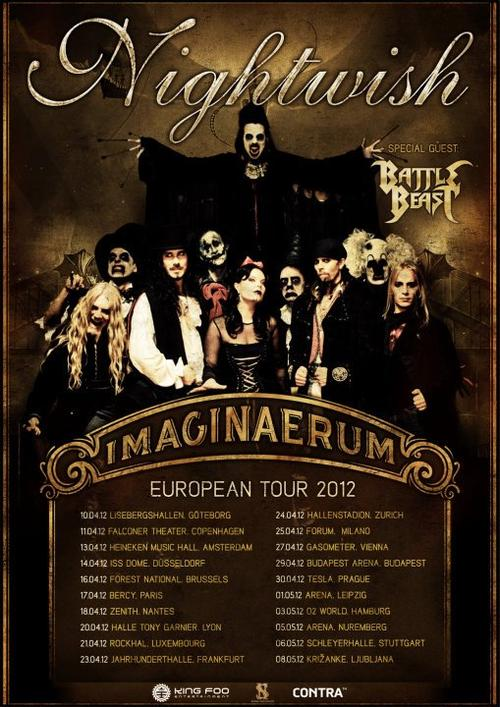 imaginaerum europe poster