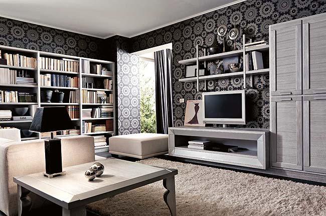 Soggiorno3 - Eccentrico ed originale soggiorno moderno - Notizie.it