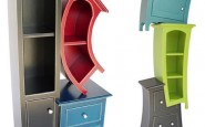 surreal creative curved shelving storage 185x115
