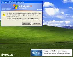 Come eliminare l'errore di Windows Genuine Advantage