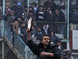 Corano bruciato