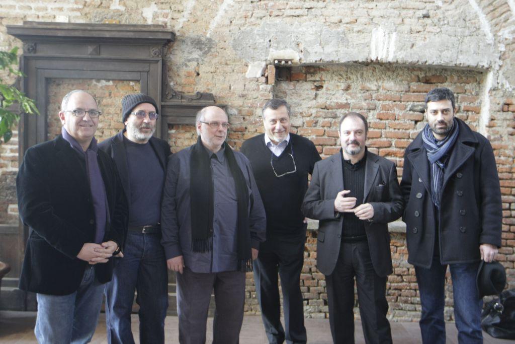 Foto di Amedeo Novelli autori e Ferrentino b