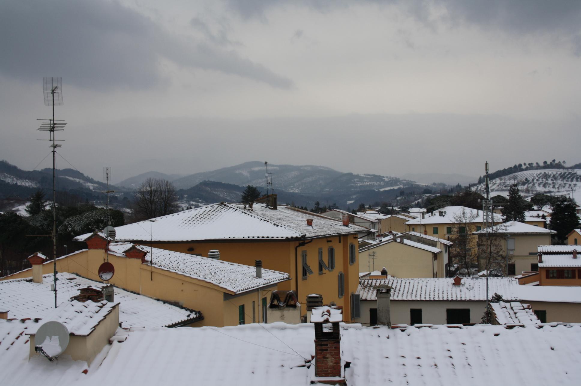 Firenze, fuori dalla finestra