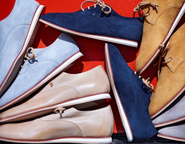 """Tod's: """"No_Code"""", la caspule collection firmata da Jefferson Hack; scarpe unisex per ogni occasione."""